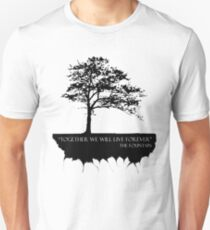 Together We Will Live Forever - THE FOUNTAIN Slim Fit T-Shirt