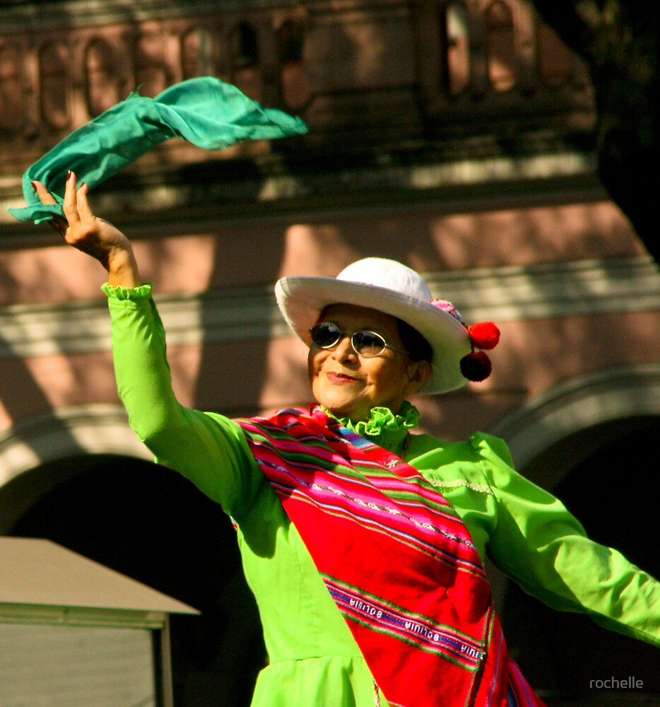 Folk Dancing - Buenos Aires by rochelle