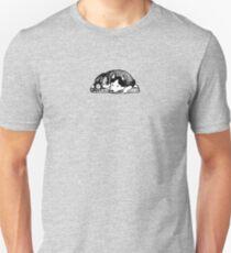 Husky napping Unisex T-Shirt