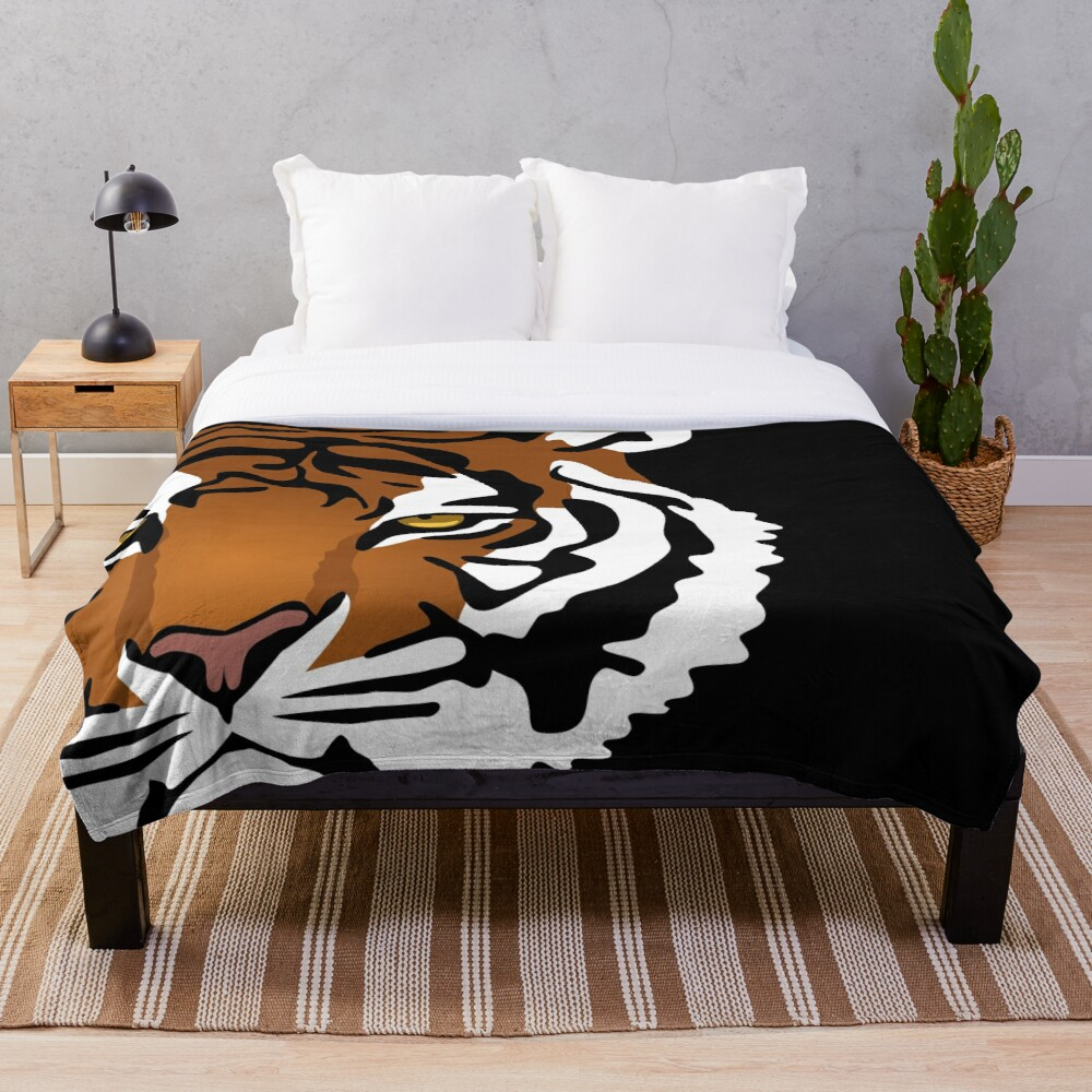 Tiger's Eye Throw Blanket