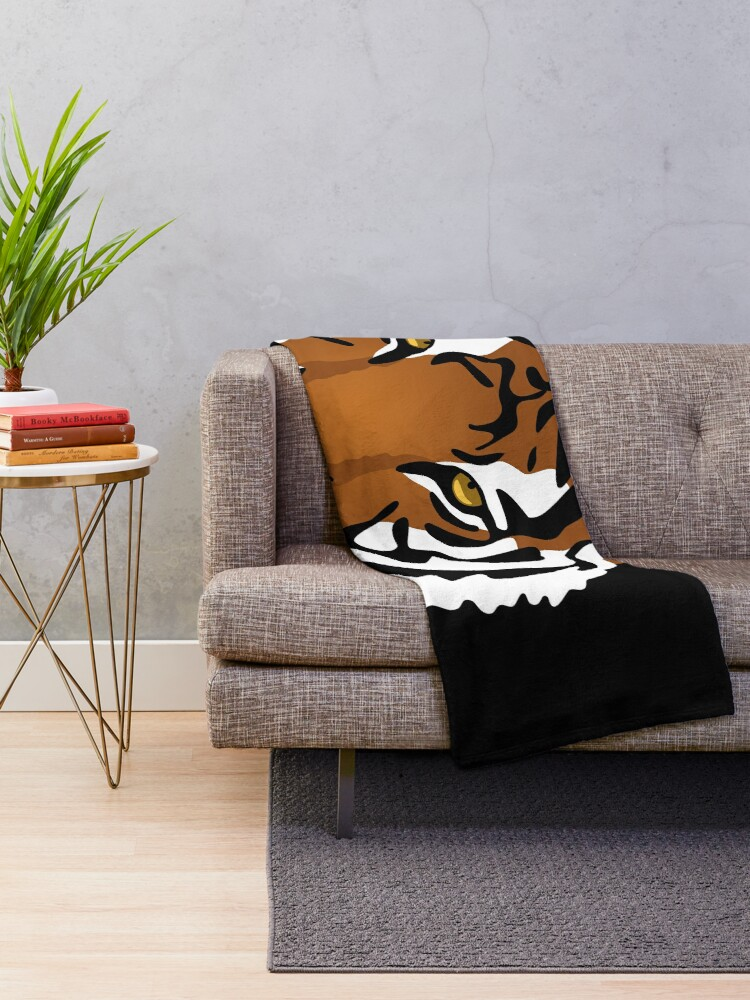 Alternate view of Tiger's Eye Throw Blanket