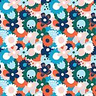Retro floral by Artyourself