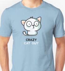 Crazy Cat Guy - Cats Unisex T-Shirt
