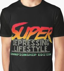 street fighter super depressing lifestyle Graphic T-Shirt