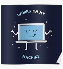 Funktioniert auf meiner Maschine - Programmierung Poster