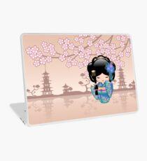 Japanese Keiko Kokeshi Doll Laptop Skin