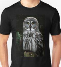 The Great Grey Owl Unisex T-Shirt