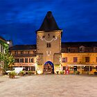 France Tower Gate by Night by Yair Karelic