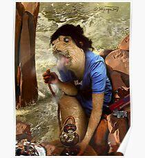 "Woe-Man Series 11: ""oohh (sigh), that feels so good"" Poster"
