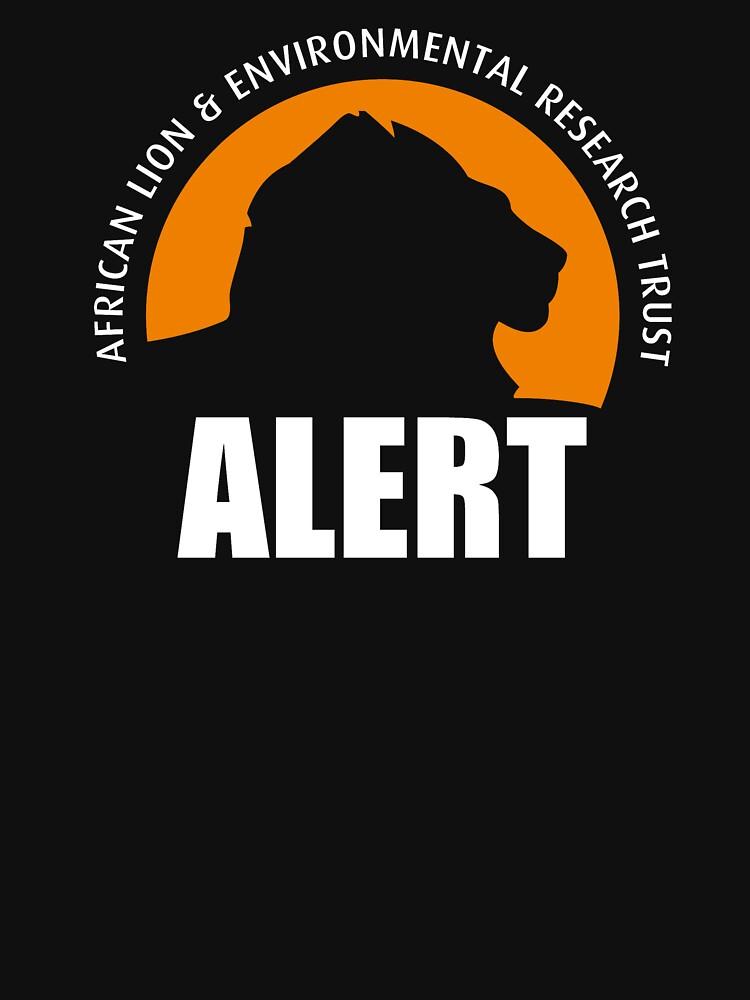 ALERT Logo (White) by LionALERT