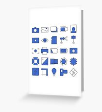 Photographic Icons Design on your Goods Greeting Card