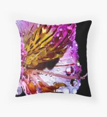 Candy Droplets Throw Pillow
