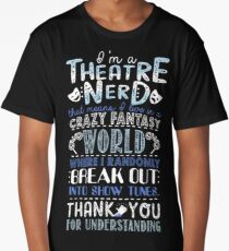 Theatre Nerd Long T-Shirt