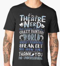 Theatre Nerd Men's Premium T-Shirt