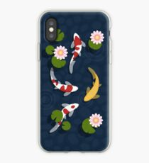 Japanese Koi Fish Pond iPhone Case