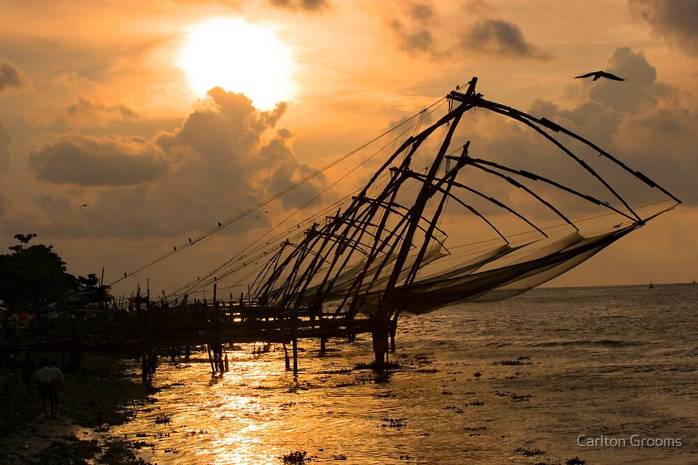 Cochin Sunset by Carlton Grooms