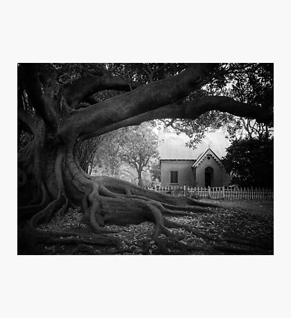 Cemetery Lodge Photographic Print