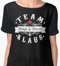 Team Klaus. Always and Forever. Chiffon Top