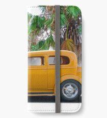 1933 Pontiac Deluxe 8 Touring Sedan 'Profile' II iPhone Wallet/Case/Skin