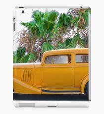 1933 Pontiac Deluxe 8 Touring Sedan 'Profile' II iPad Case/Skin
