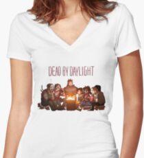 Dead Family Women's Fitted V-Neck T-Shirt