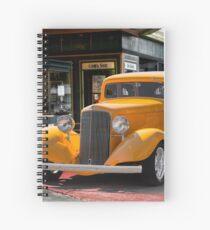 1933 Pontiac Deluxe 8 Touring Sedan II Spiral Notebook