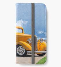 1933 Pontiac Deluxe 8 Touring Sedan IV iPhone Wallet/Case/Skin