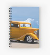 1933 Pontiac Deluxe 8 Touring Sedan IV Spiral Notebook
