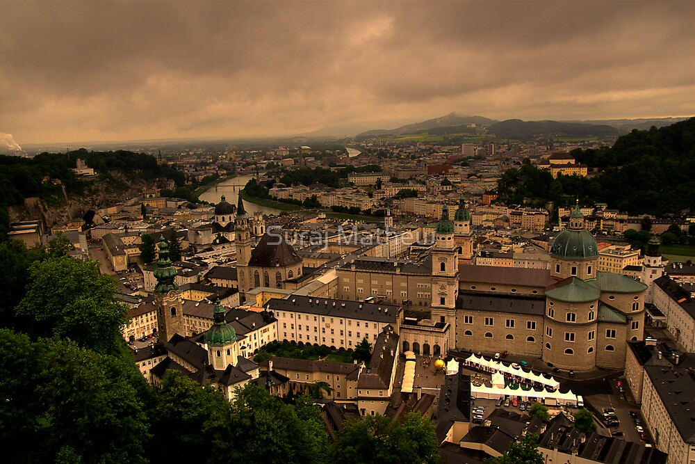 Old Town of Salzburg, Austria by Suraj Mathew