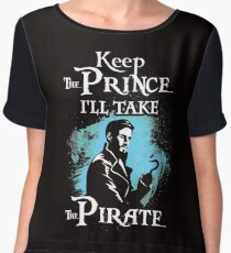 Keep The Prince, I'll Take The Pirate Women's Chiffon Top