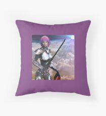 Queen of the Thrones of Air Throw Pillow