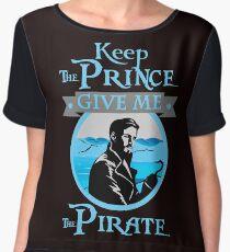 Keep The Prince, I'll Take The Pirate Chiffon Top