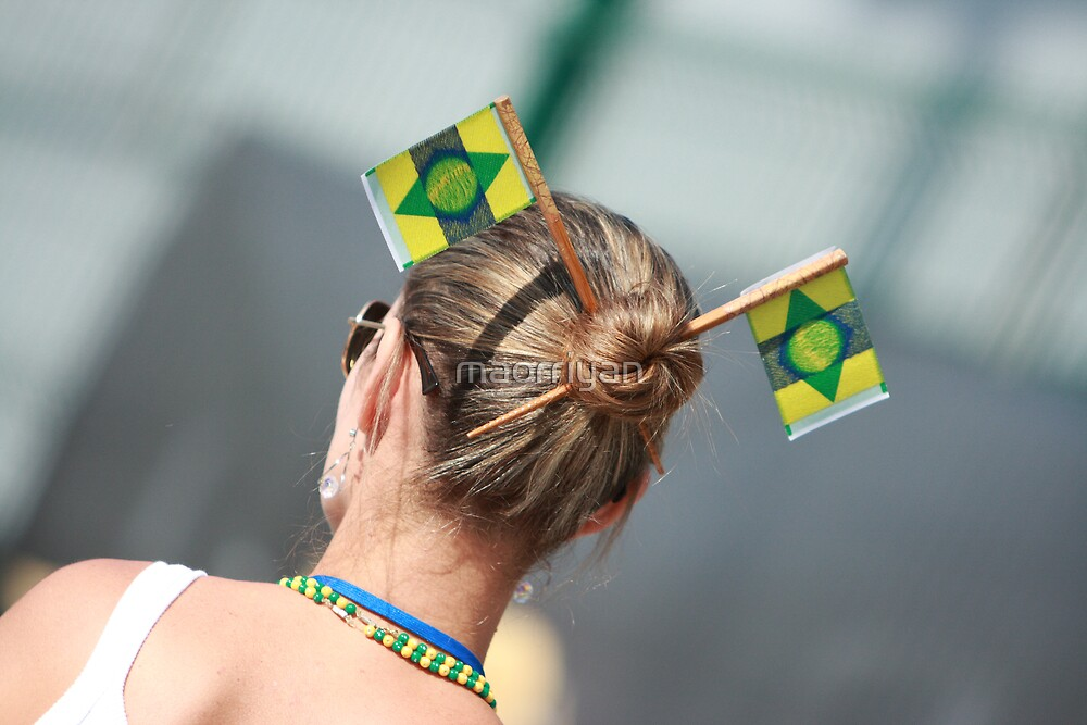 Brazilian Supporter by maorriyan