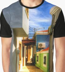 Chalki Alleyway Graphic T-Shirt