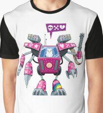 Robo-pussycat Graphic T-Shirt