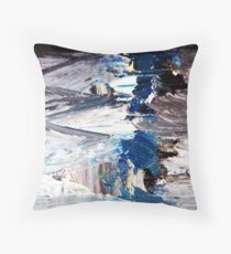 I'm too busy being blue Throw Pillow