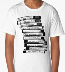 Brooklyn 99 Sex Tapes Long T-Shirt