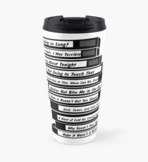 Brooklyn 99 Sex Tapes Travel Mug