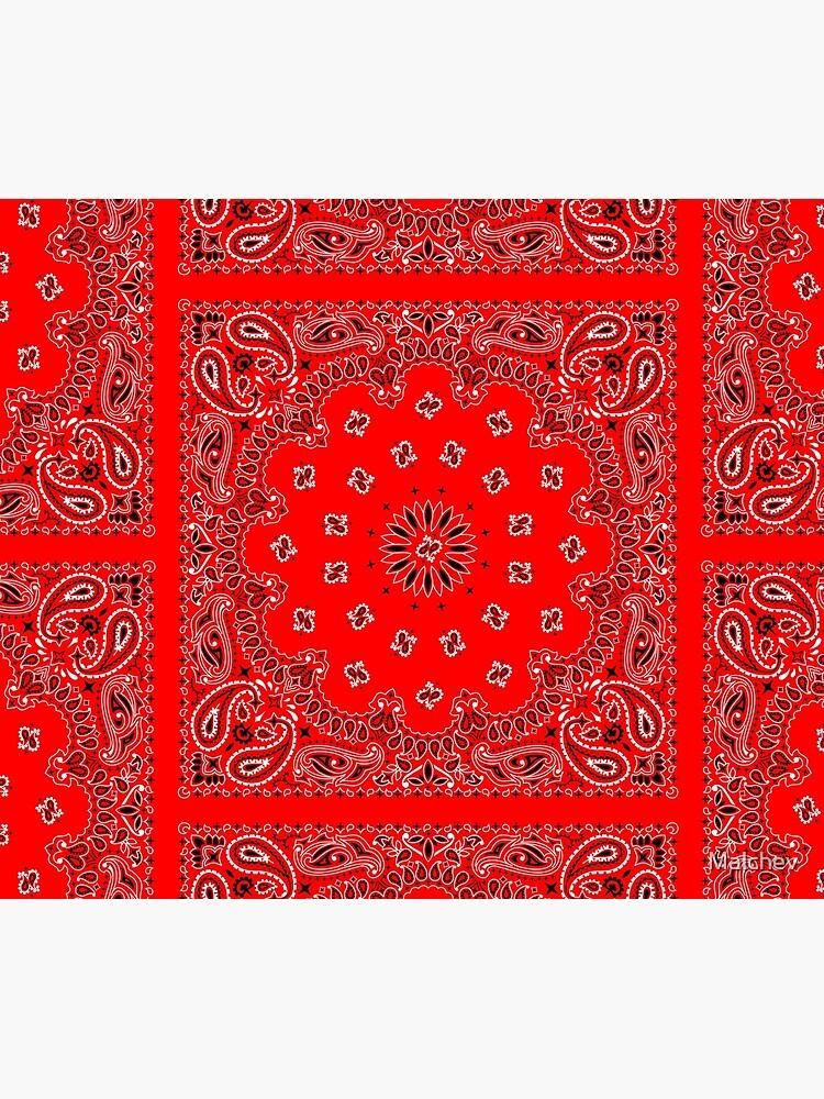 Red Bandana by Malchev