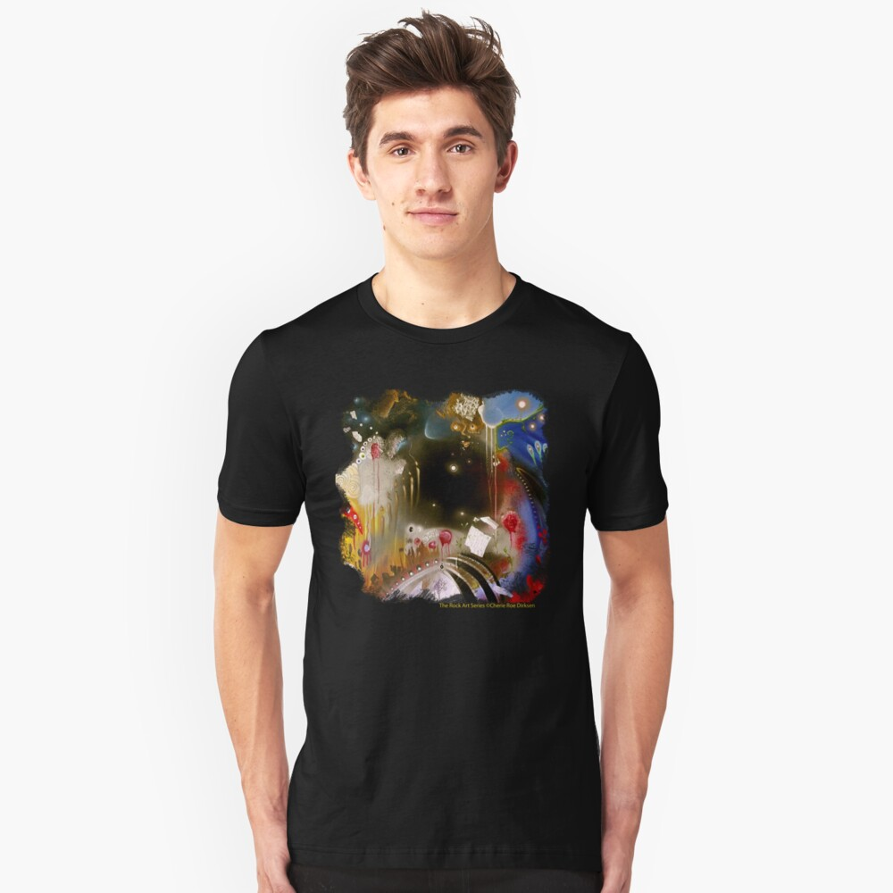 'Dancing in the Void' Tee Unisex T-Shirt Front
