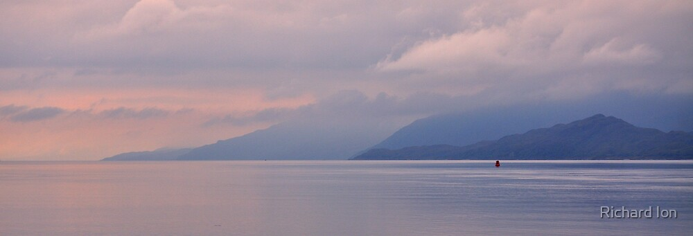 Loch Linnhe and Kingairloch by Richard Ion