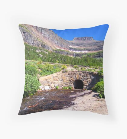 Glacier 7 Throw Pillow
