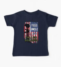 Proud Uncle of a Fallen Soldier Veterans Day Shirt Kids Clothes