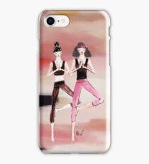 Yoga girls iPhone Case/Skin