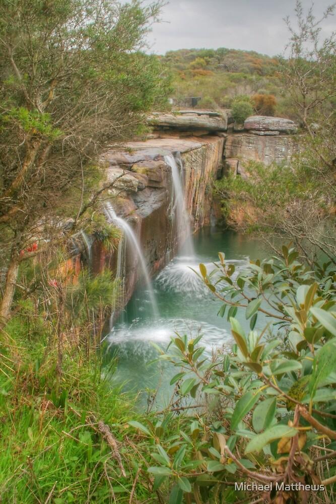 Wattamolla Waterfall by Michael Matthews
