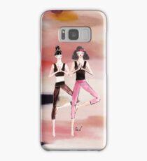yoga girls Samsung Galaxy Case/Skin