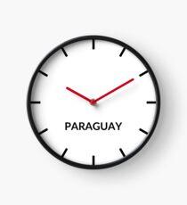 Paraguay Clock