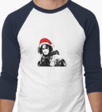 Lass es schneien - Weihnachten Baseballshirt mit 3/4-Arm