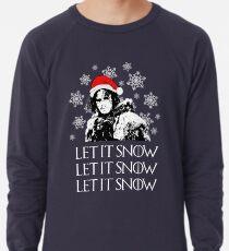Lass es schneien - Weihnachten Leichter Pullover