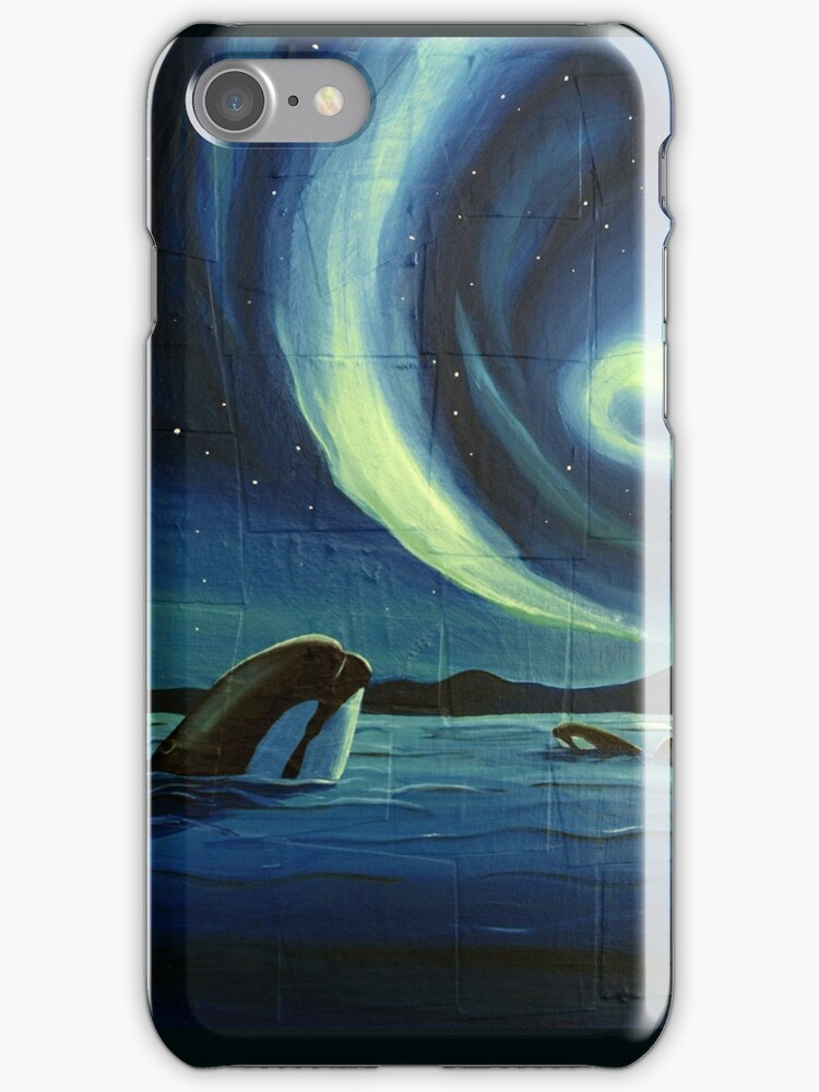 Whale Watching phone Case by Sarah  Mac